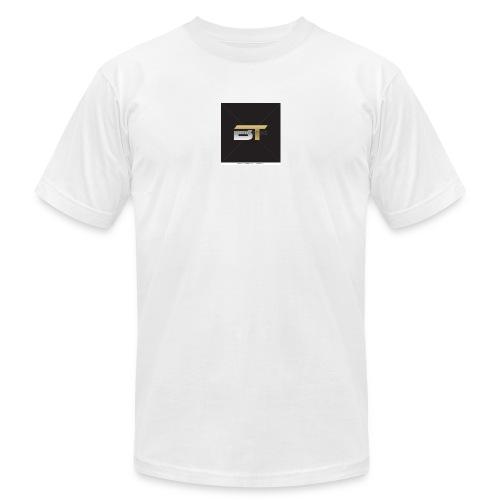 BT logo golden - Unisex Jersey T-Shirt by Bella + Canvas