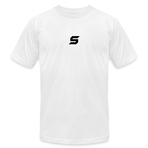 A s to rep my logo - Unisex Jersey T-Shirt by Bella + Canvas