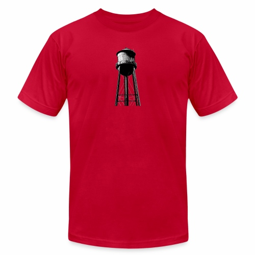 Water Tower - Men's Jersey T-Shirt