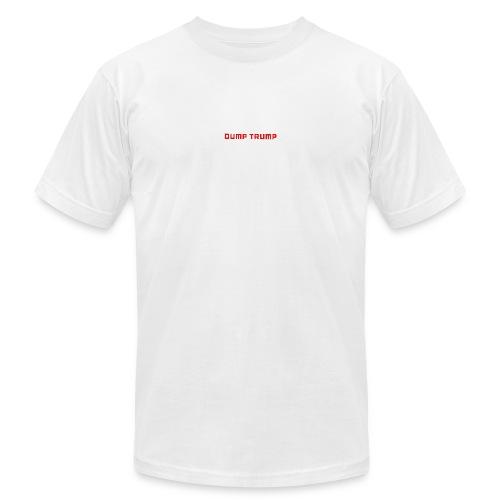 DUMP TRUMP NOW - Men's  Jersey T-Shirt
