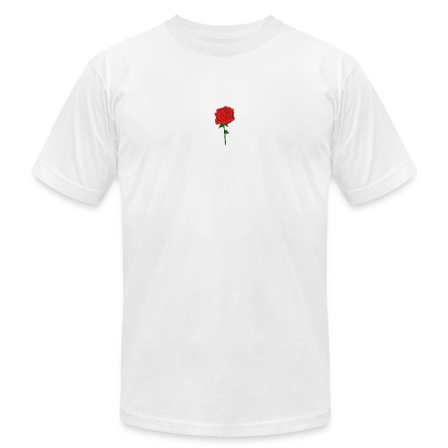 Classic rose - Unisex Jersey T-Shirt by Bella + Canvas