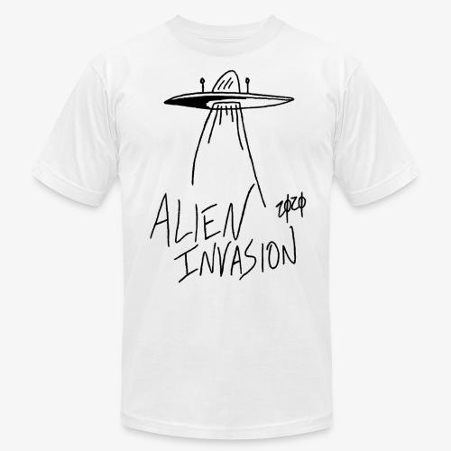 alien invasion - Unisex Jersey T-Shirt by Bella + Canvas