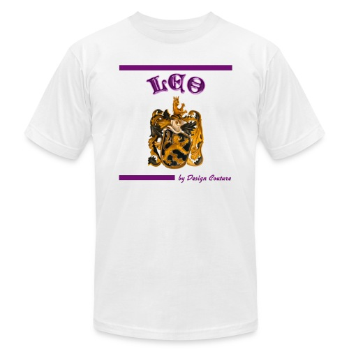 LEO PURPLE - Men's  Jersey T-Shirt