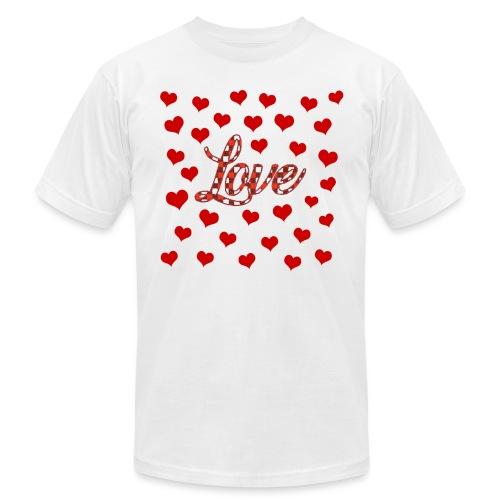 VALENTINES DAY GRAPHIC 3 - Unisex Jersey T-Shirt by Bella + Canvas
