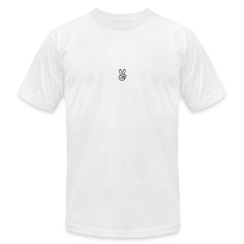 Peace J - Unisex Jersey T-Shirt by Bella + Canvas
