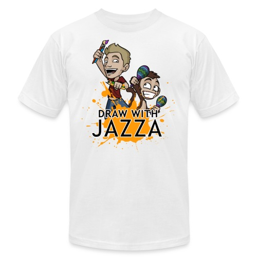 Draw With Jazza - Unisex Jersey T-Shirt by Bella + Canvas