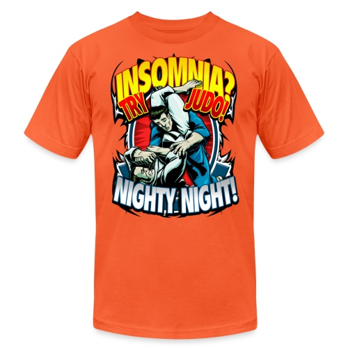 Insomnia Judo Design - Unisex Jersey T-Shirt by Bella + Canvas
