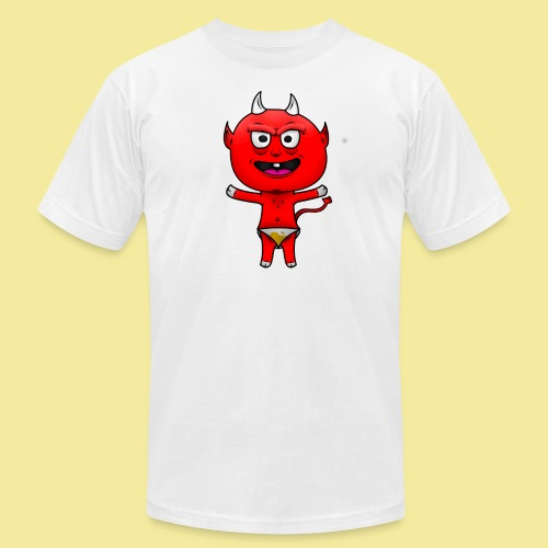 Devil png - Unisex Jersey T-Shirt by Bella + Canvas