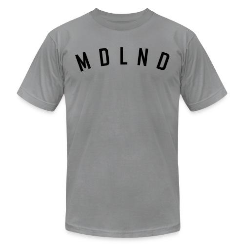 Black Plain Tee - Unisex Jersey T-Shirt by Bella + Canvas