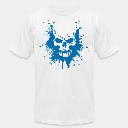 skull bones splash tshirt - Unisex Jersey T-Shirt by Bella + Canvas