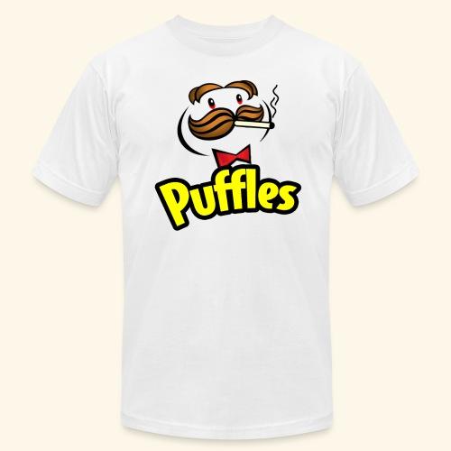 Puffles - Smoking Man - Unisex Jersey T-Shirt by Bella + Canvas