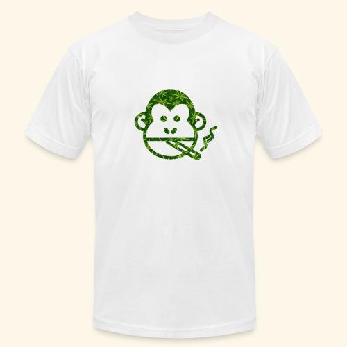 Monkey Smoking - Unisex Jersey T-Shirt by Bella + Canvas