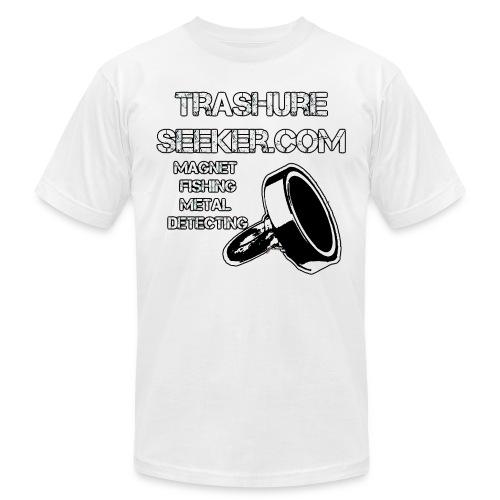 trashureseeker logo - Unisex Jersey T-Shirt by Bella + Canvas