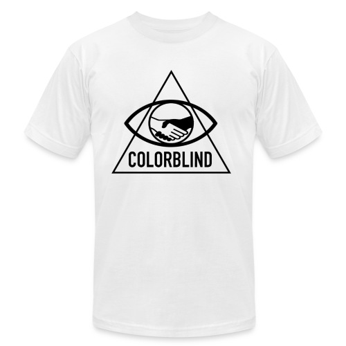 Colorblind Logo Black - Men's  Jersey T-Shirt