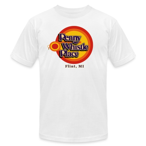 Penny Whistle Place - Unisex Jersey T-Shirt by Bella + Canvas