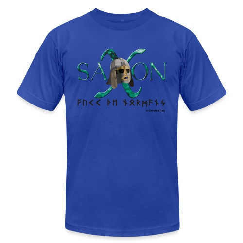 Saxon Pride - Unisex Jersey T-Shirt by Bella + Canvas