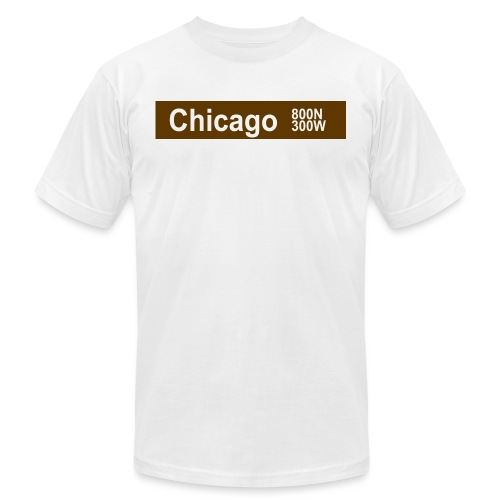 Chicago brown - Men's Jersey T-Shirt