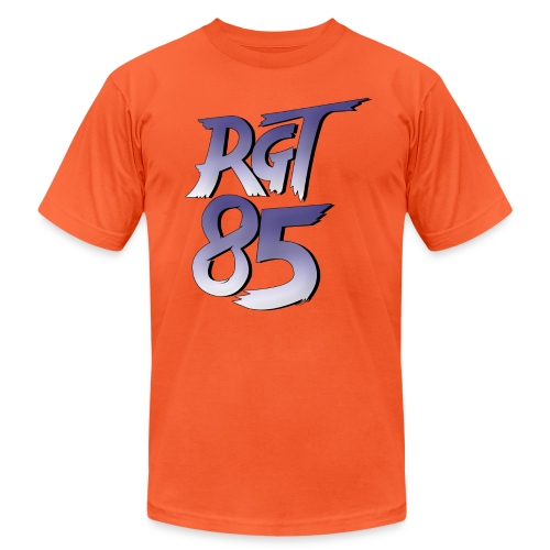 RGT 85 Logo - Unisex Jersey T-Shirt by Bella + Canvas