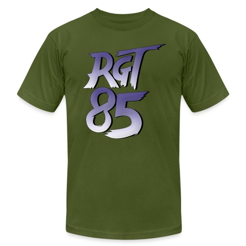 RGT 85 Logo - Unisex Jersey T-Shirt by Bella + Canvas