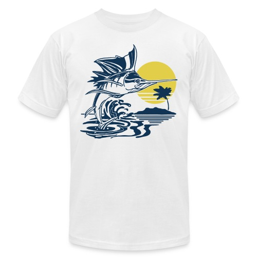 Sailfish - Unisex Jersey T-Shirt by Bella + Canvas