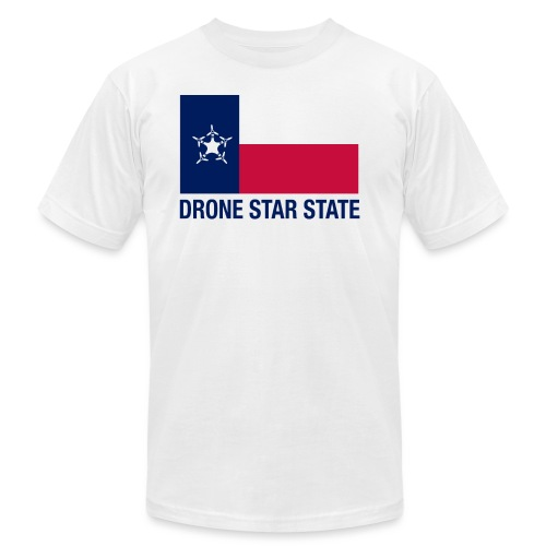 Drone Star State - Long Sleeve - Unisex Jersey T-Shirt by Bella + Canvas