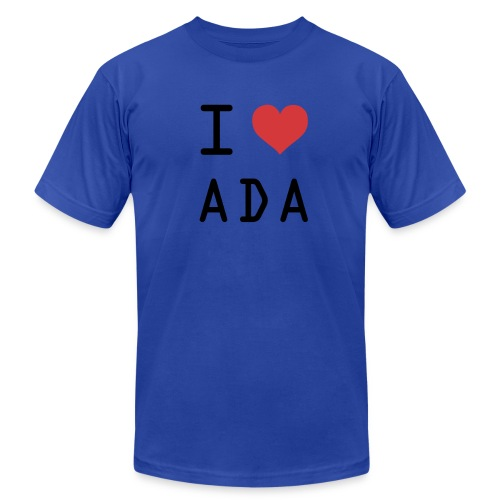 I HEART ADA (Cardano) - Men's  Jersey T-Shirt