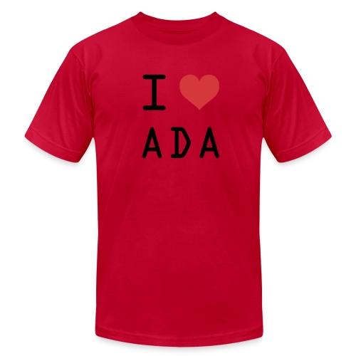 I HEART ADA (Cardano) - Men's  Jersey T-Shirt