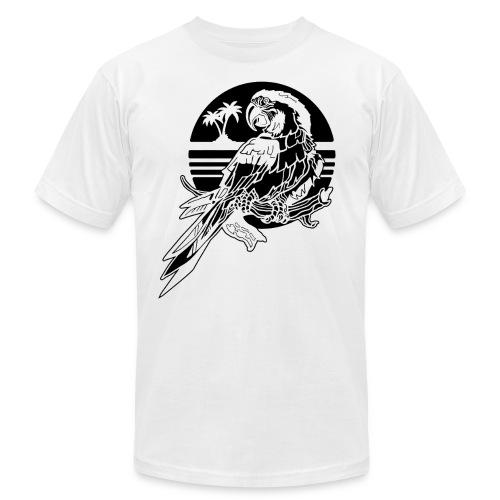 Tropical Parrot - Men's Jersey T-Shirt