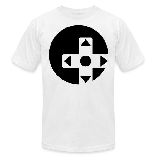 circle logo black png - Men's Jersey T-Shirt