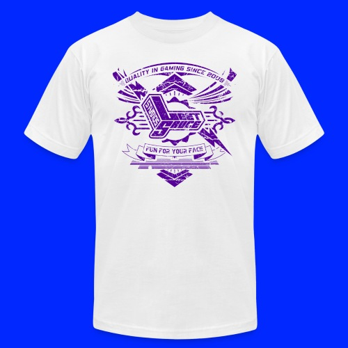 Vintage Leet Sauce Studios Crest Purple - Unisex Jersey T-Shirt by Bella + Canvas