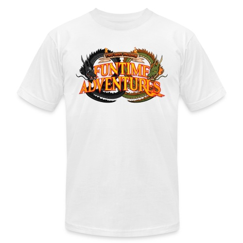 happyhour funtime adv logo WHITE SHIRT ONLY - Men's Jersey T-Shirt