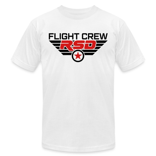 RSD Flight Crew - Unisex Jersey T-Shirt by Bella + Canvas
