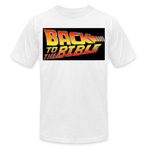 back to the bible tshirt - Men's Jersey T-Shirt