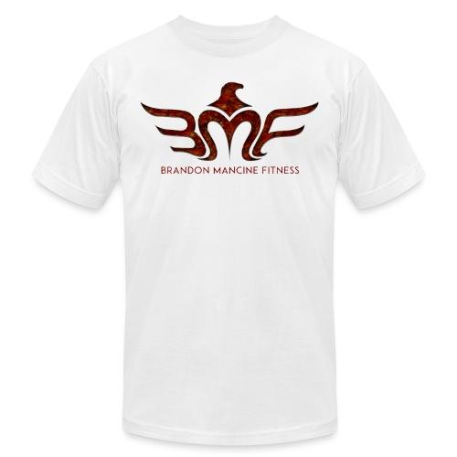 LogoSet Lava BMF 300dpi png - Unisex Jersey T-Shirt by Bella + Canvas