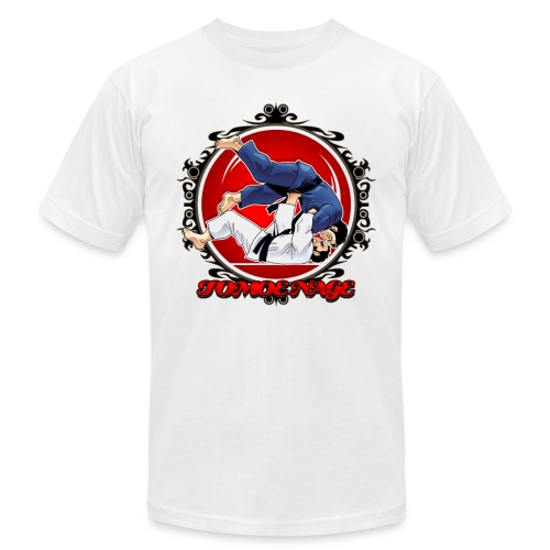 Judo Throw Tomoe Nage - Unisex Jersey T-Shirt by Bella + Canvas