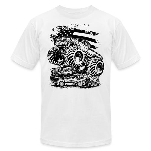 Monster Truck USA - Unisex Jersey T-Shirt by Bella + Canvas