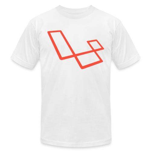 laravel l slant - Men's  Jersey T-Shirt