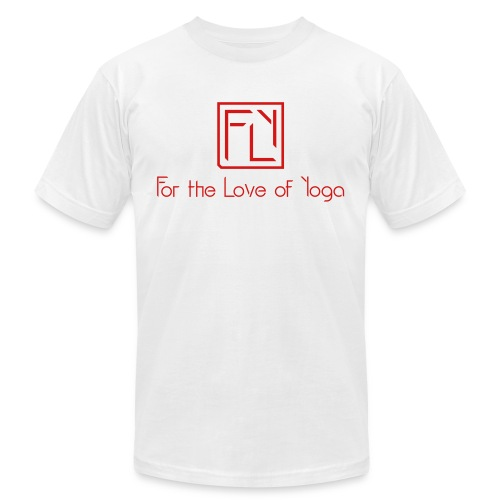For the Love of Yoga - Unisex Jersey T-Shirt by Bella + Canvas