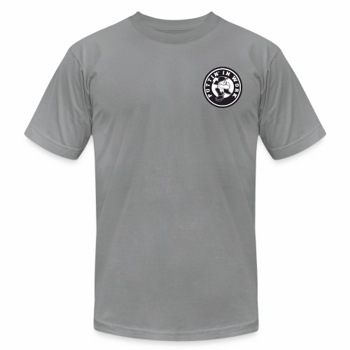Solid Puttin' In Work Logo - Men's Jersey T-Shirt