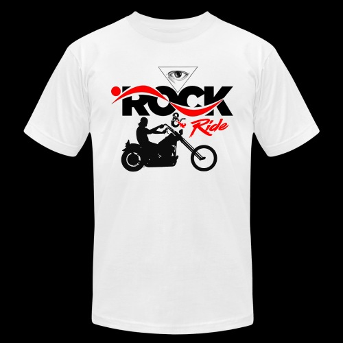Eye Rock & Ride Design - Unisex Jersey T-Shirt by Bella + Canvas