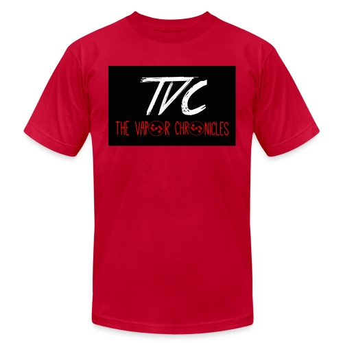 TVC Simple Red jpg - Unisex Jersey T-Shirt by Bella + Canvas
