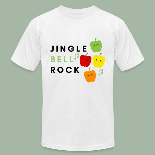 Jingle Bell Rock - Unisex Jersey T-Shirt by Bella + Canvas