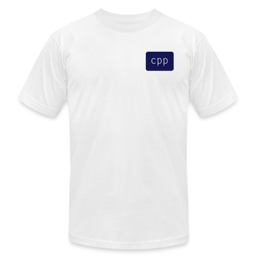 CPP logo - Unisex Jersey T-Shirt by Bella + Canvas
