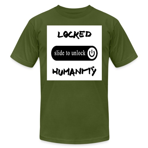 Locked Humanity - Men's Jersey T-Shirt