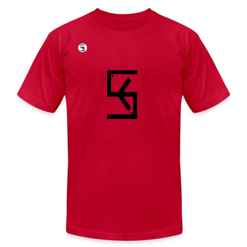 Soft Kore Logo Black - Unisex Jersey T-Shirt by Bella + Canvas