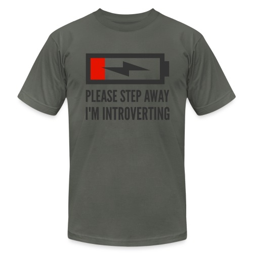 introverting - Unisex Jersey T-Shirt by Bella + Canvas