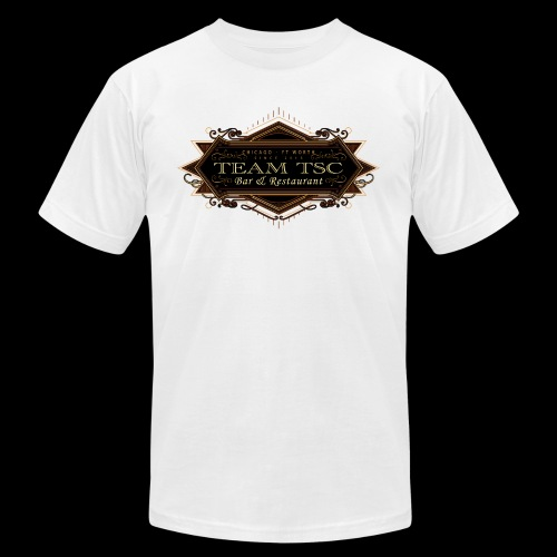 teamTSC badge03 Bar - Unisex Jersey T-Shirt by Bella + Canvas