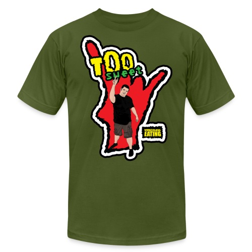 Wreckless Eating Too Sweet Shirt (Women's) - Unisex Jersey T-Shirt by Bella + Canvas