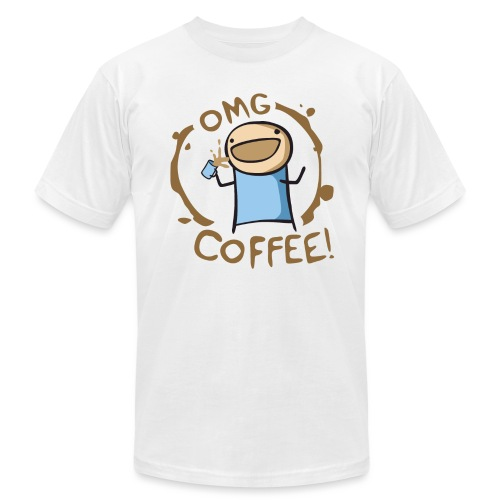 OMG COFFEE - Unisex Jersey T-Shirt by Bella + Canvas