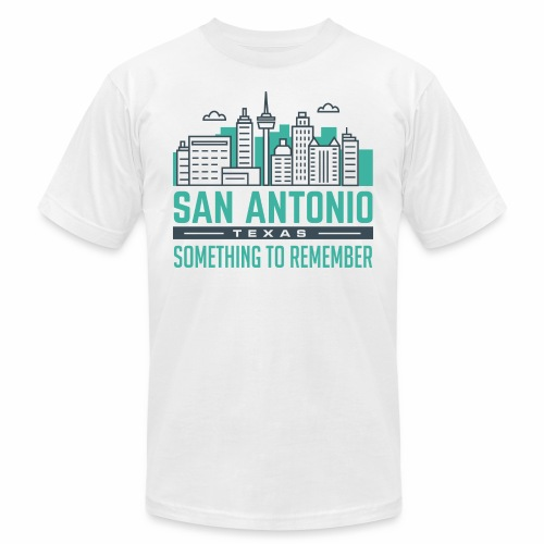 San Antonio - Unisex Jersey T-Shirt by Bella + Canvas